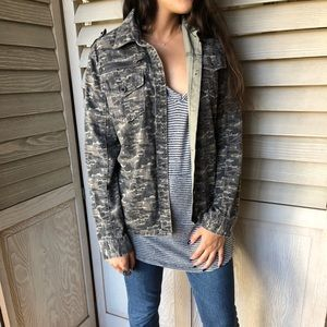 Urban Outfitters BDG Camo Utility Jacket